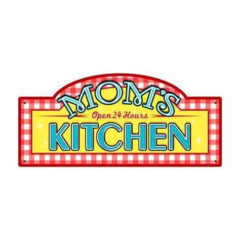 Metal Kitchen Signs by S Kitchen Tin Metal Sign Reproduction American