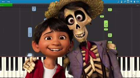 coco ost remember me miguel remember me piano tutorial disney s coco