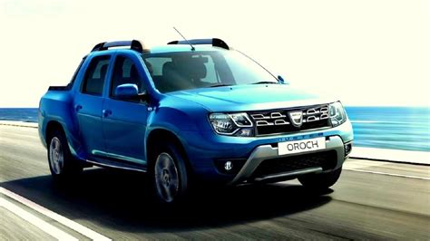 renault duster oroch new dacia duster oroch pick up 2016 2017 motorhome cz
