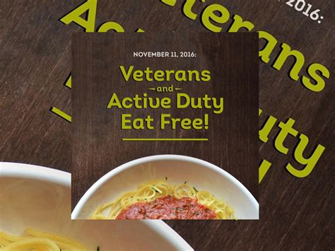 Olive Garden Veterans Day by Free Meals For Veterans And Active At Olive