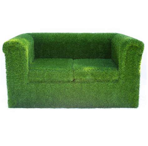 garden loveseats artificial grass garden sofa by artificial landscapes