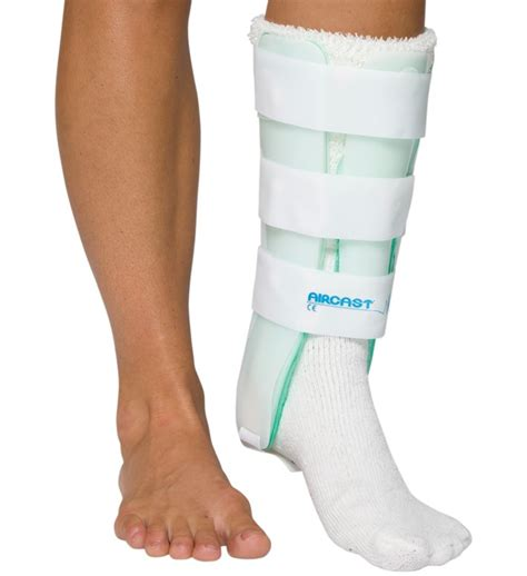 leg brace aircast leg brace