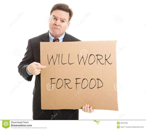 Will Work For by Will Work For Food Royalty Free Stock Photo Image 20401305