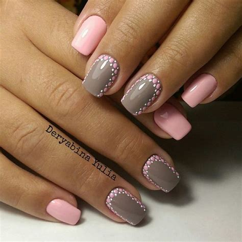 Modele De Nail by Nail 1196 Grey Manicures And Nail Design