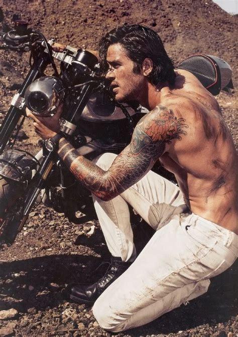 long hairstyles for a biker man tantalizing tuesdays sexy badass biker bookish temptations
