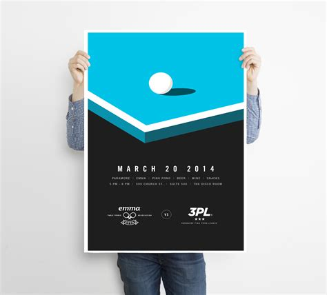 1000 Infographics Posters Brochures Flyers More Venngage Design Inspiration Gallery Free Pong Flyer Template