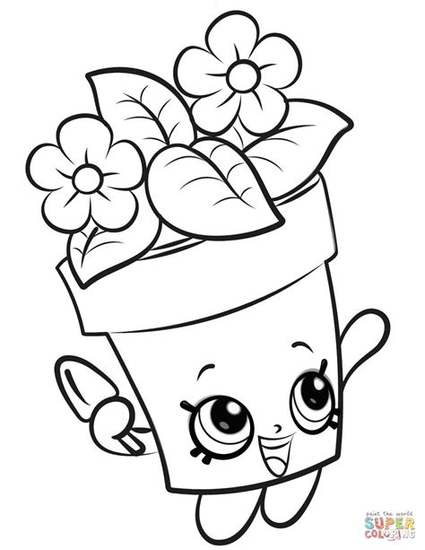 printable coloring pages easy easy coloring pages from shopkins printable 2 shopkins