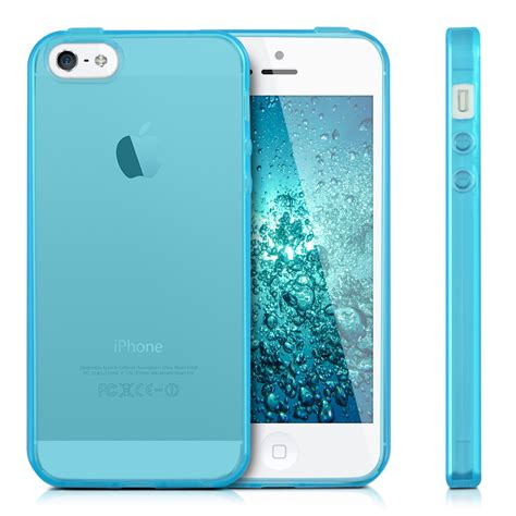 kwmobile tpu silicone for apple iphone se 5 5s soft cover ebay