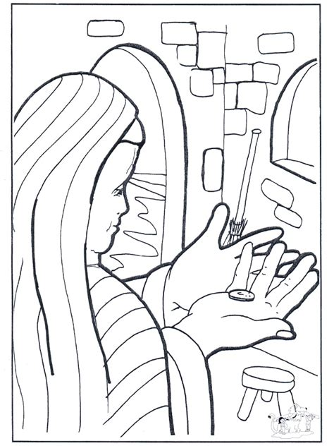 lost coin coloring page az coloring pages