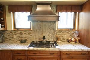 Copper Backsplash For Kitchen Northern Arizona Stone Creations