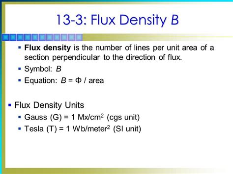 Tesla Unit Of Measurement 13 Magnetism Chapter Topics Covered In Chapter Ppt
