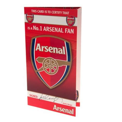 Gift Cards For Fans - arsenal gift cards official merchandise 2017 18