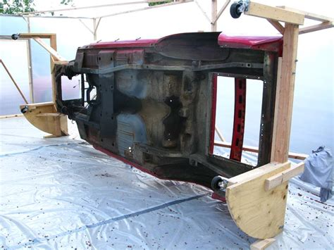Shop Garage Plans my wooden rotisserie rolltisserie mustang forums at