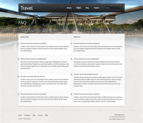 themeforest travel travel premium html template by equiet themeforest