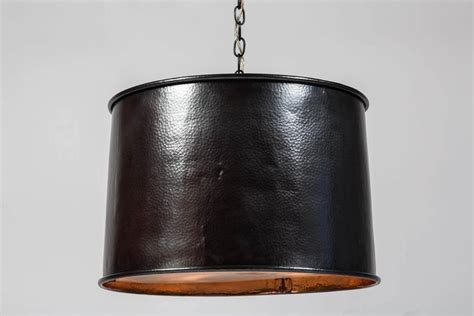 Drum Lighting Fixture Copper Drum Light Fixture At 1stdibs