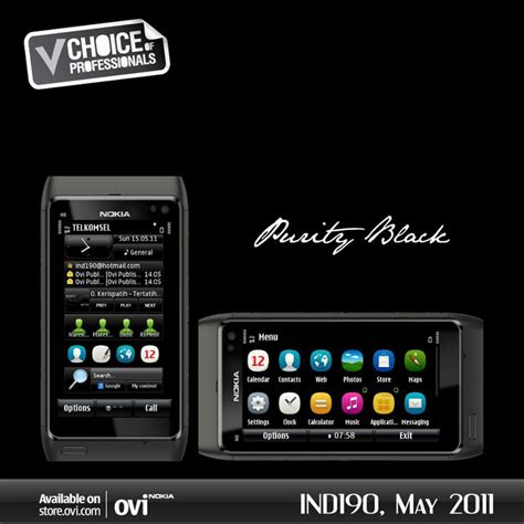 nokia store themes download nokia themes free download purity black by ind190 for