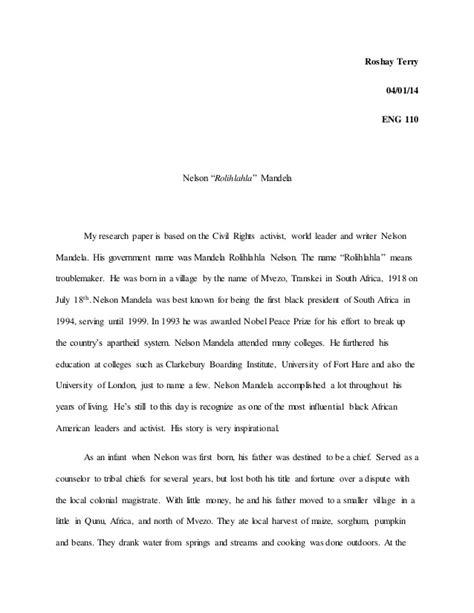 Nelson Mandela Essay by Nelson Mandela Essay Nelson Mandela Essay Gcse History Marked By Teachers Ayucar