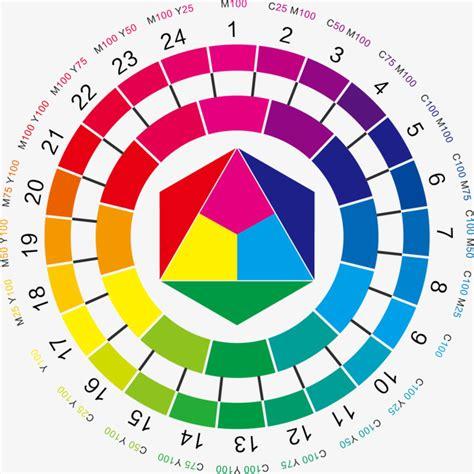 html color wheel vector color wheel 24 vector material color wheel