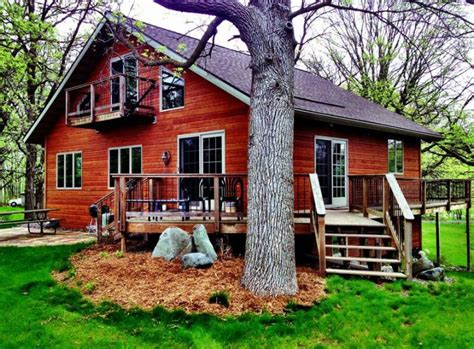 cabins cottages scenic rentals travel wisconsin