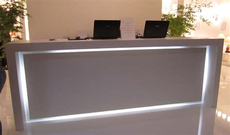 Led Reception Desk Reception Desk Inspiration Luxury Interior Design Journal