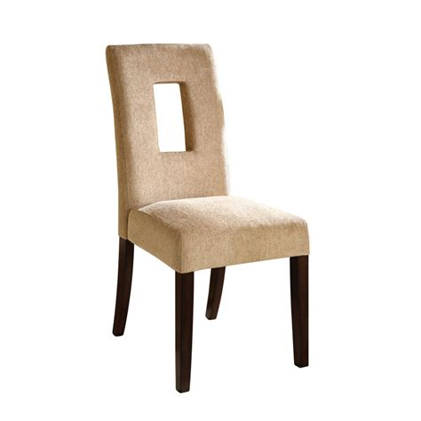moss espresso upholstered dining chairs set of 2