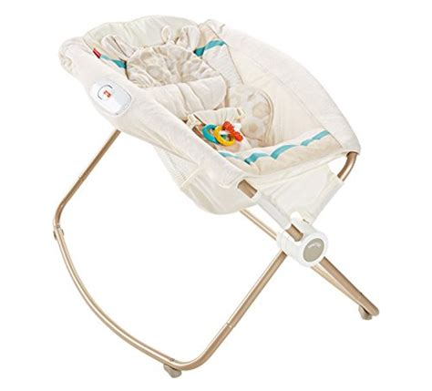 Deluxe And Secure Sleeper by Fisher Price Deluxe Rock N Play Sleeper Soothing Savanna