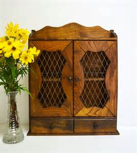vintage wooden spice cabinet by thevintageroad2retro on etsy