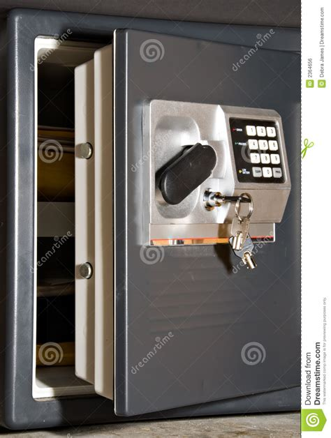 Front Door Key Safe Open Safe With Royalty Free Stock Image Image 2364656
