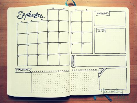 Monthly Layout Bullet Journal | bullet journal page mensuelle pages mensuelles monthly