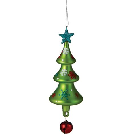 tree with bell christmas ornament