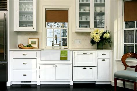 Glass Front Cupboard - designer kitchens glass front cabinets simplified bee