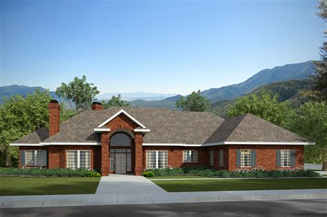 classic home plans classic house plans brentwood 30 007 associated designs