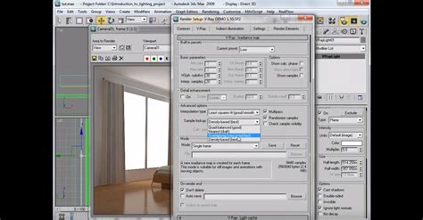 tutorial video post 3ds max interior lighting rendering tutorial vray 3ds max