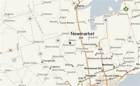 newmarket canada location guide