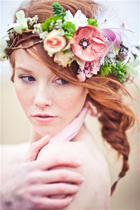 Wedding Hair Flowers by Floral Hair Arrangements