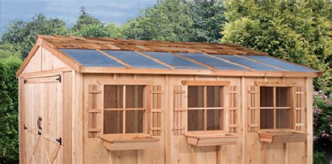 Skylight For Shed by Shed Skylight Option Cedarshed Usa