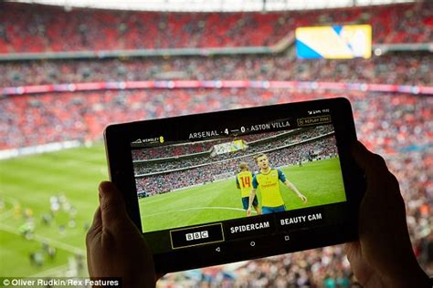 mobile sport ee and test app that broadcasts sporting events on