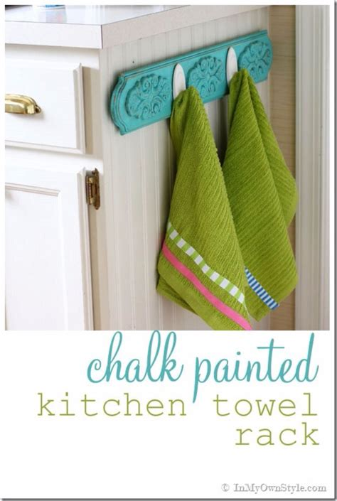 kitchen towel rack ideas 40 chalk paint furniture ideas page 2 of 8