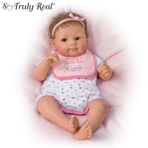 Flower Mine 2tone Fashion With Doll daddys so truly real lifelike baby doll by