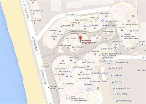 google indonesia indoor map top bali