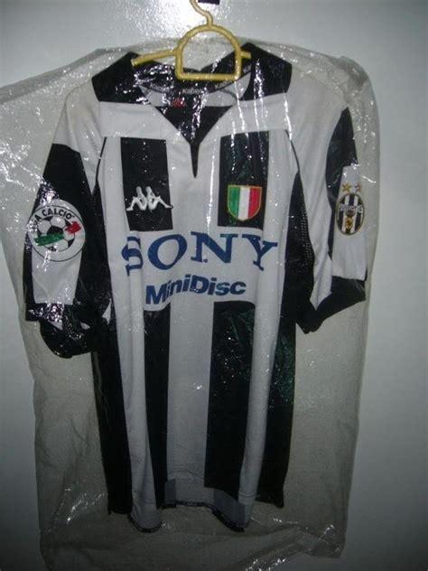 Baju Adidas Sepakbola juventus 1997 1998 home match day issue baju bola sepak