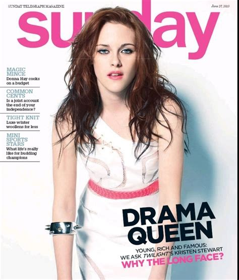 Worst Magazine Covers by Cele Bitchy Kristen Stewart S Worst Magazine Cover