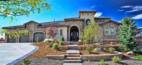 Tuscan Houses Tuscany Homes New Custom Designed Homes By An Award