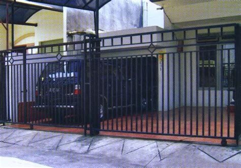 Desain Gambar Pagar | contoh gambar model desain pagar minimalis kamar minimalis