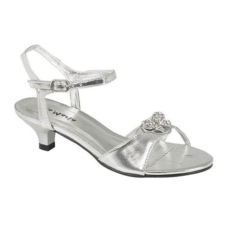 silver sandals for wedding low heel buy onlineshoe low heel wedding bridesmaid