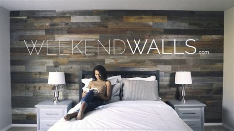 Peel And Stick Wainscoting by Weekend Walls Peel And Stick Wood Paneling