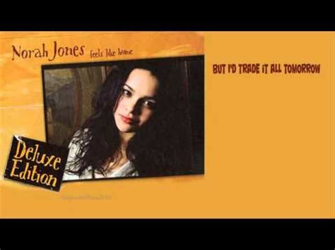 norah jones the way home lyrics