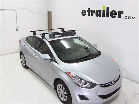 roof rack for hyundai elantra 0 hyundai elantra accessories and parts thule