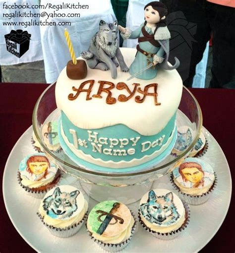 themed birthday cakes quezon city arya stark and nymeria s birthday cake a song of ice and