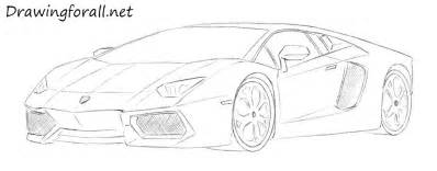 Lamborghini How To Draw How To Draw A Lamborghini Drawingforall Net
